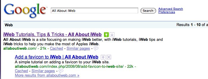 Seo For Iweb More Keywords All About Iweb