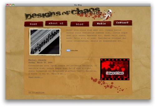 iweb_grunge_blog