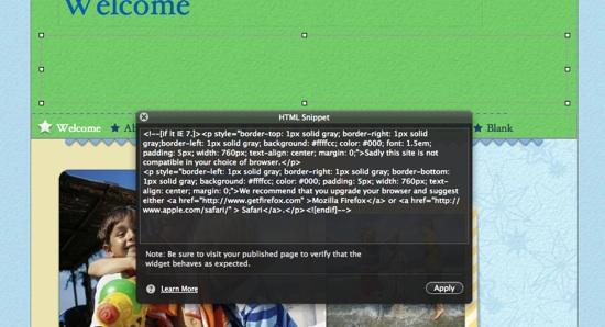 insert_html_snippet_iweb