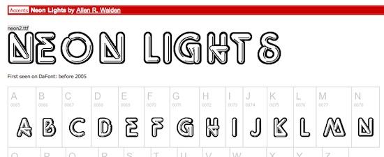 neon_lights_font_iweb