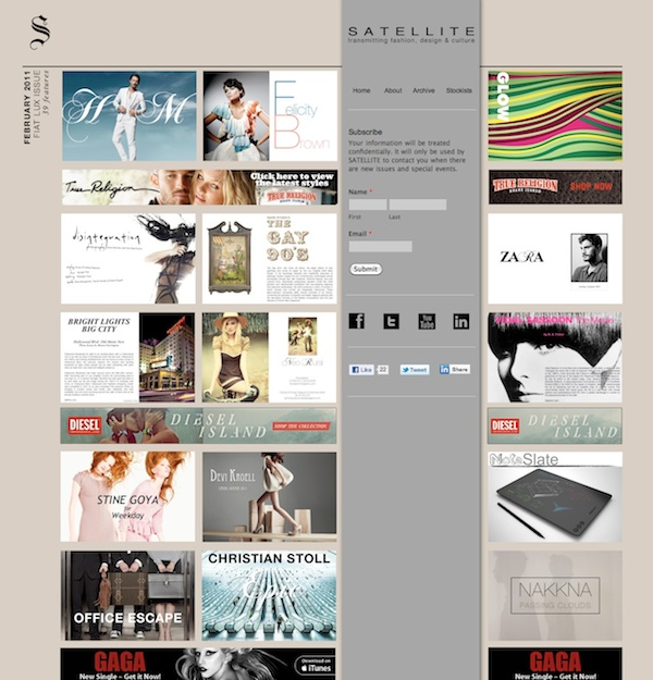 Some more great looking iWeb sites for your inspiration