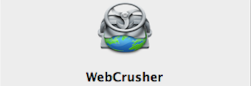 webcrusher header