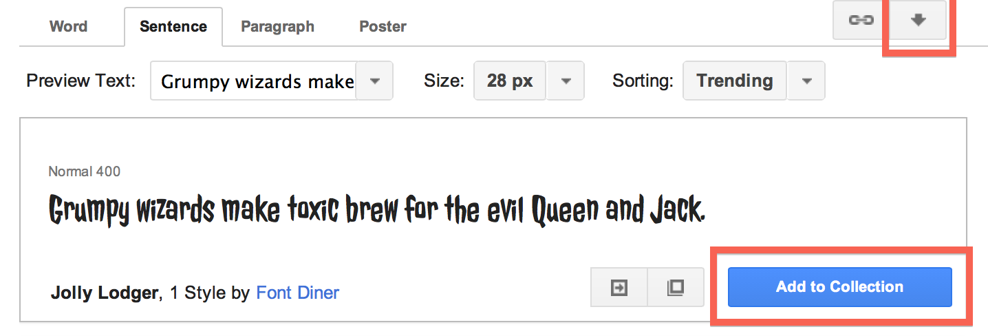 how to download google fonts on mac