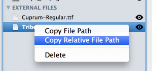 Copy Relative File Path