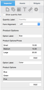 EverWeb 1.8 Paypal eCommerce Options